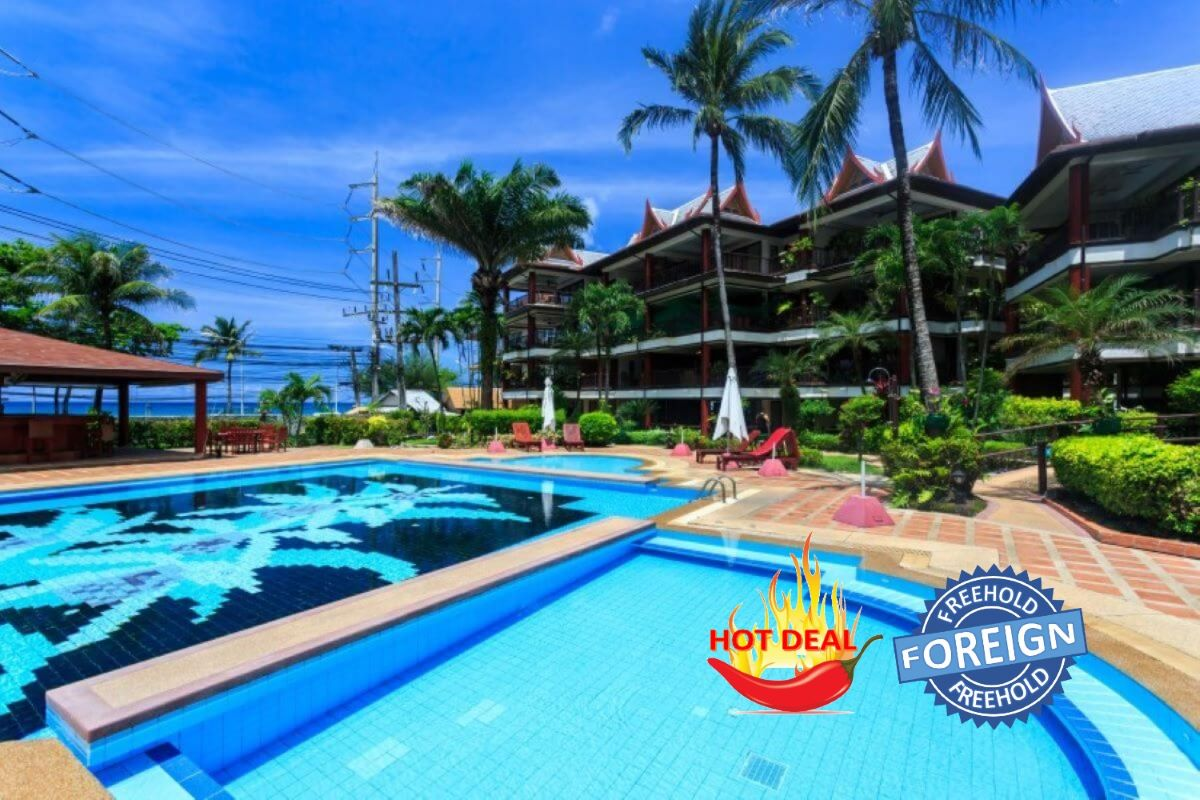 2 Bedroom Foreign Freehold Condo for Sale in Kalim Beach, Phuket