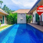 3 Bedroom Balinese Style Fully Furnished Pool Villa for Sale in Nai Harn, Phuket