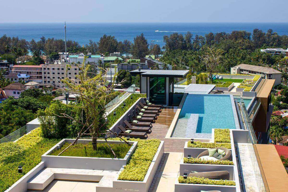 1 Bedroom Foreign Freehold Resort Condo for Sale from Owner at The Panora near Surin Beach, Phuket
