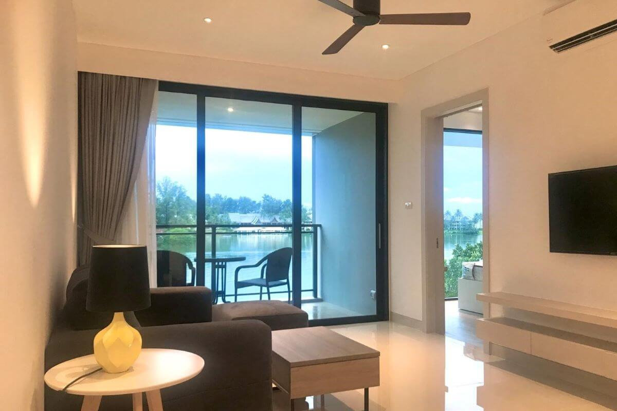 2 Bedroom Freehold Sea & Lagoon View Condo for Sale in Laguna, Phuket