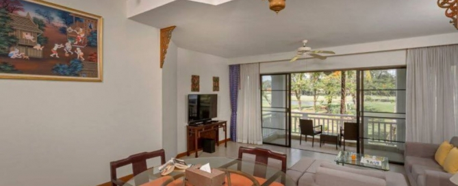 1 Bedroom Golf Course View Freehold Condo for Sale in Laguna, Phuket
