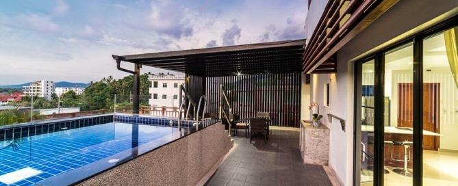 2 Bedroom Freehold Sea View Condo for Sale near Surin Beach, Phuket