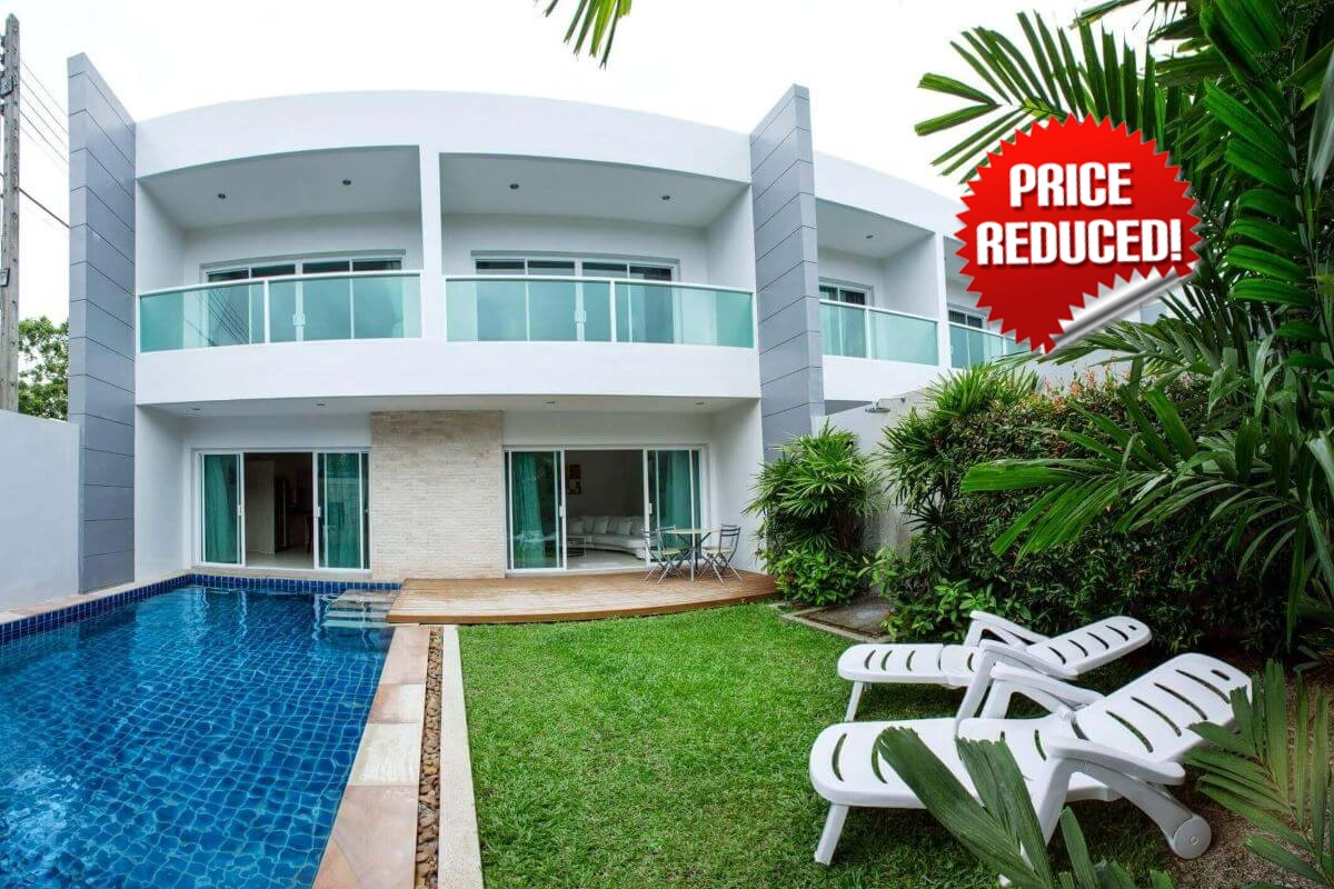 3 Bedroom Townhouse Pool Vila for Sale by Owner at Ion Tree Villas in Rawai, Phuket