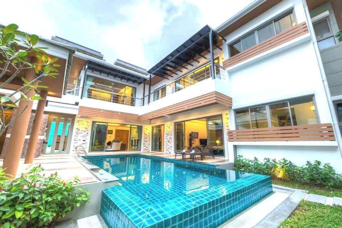 3 Bedroom Resort Pool Villa for Sale near Wat Chalong, Phuket