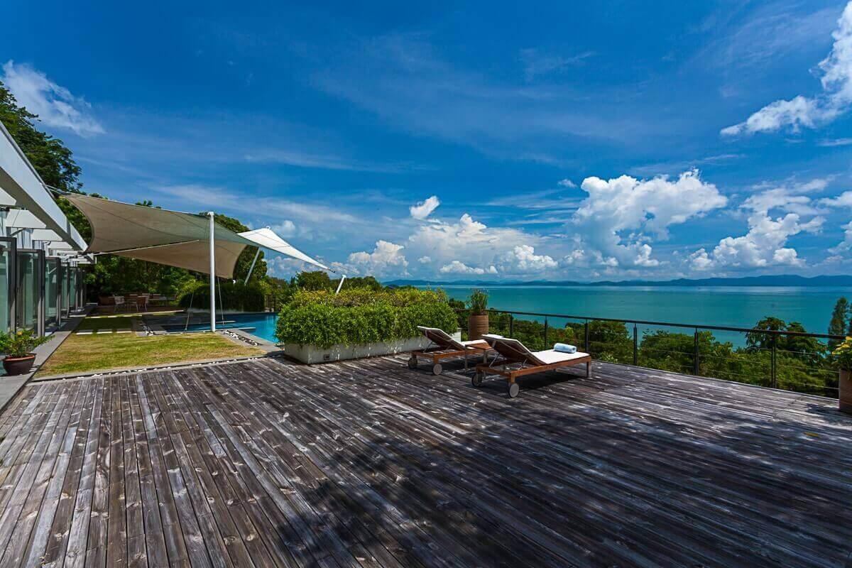 6 Bedroom Sea View Luxury Pool Villa for Sale near Ao Po Grand Marina, Phuket