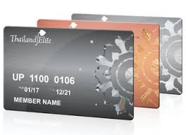 Thailand Elite Program Membership Cards