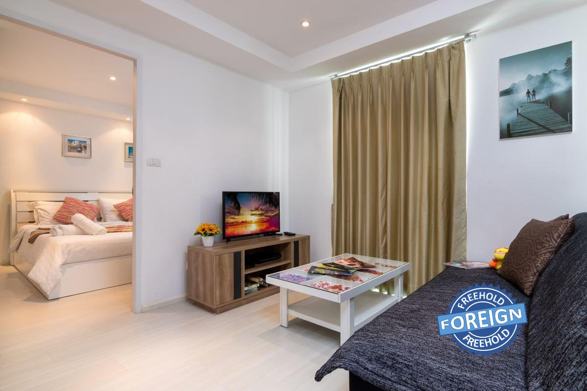 1 Bedroom Foreign Freehold Condo for Sale by Owner at Kata Ocean View, Phuket