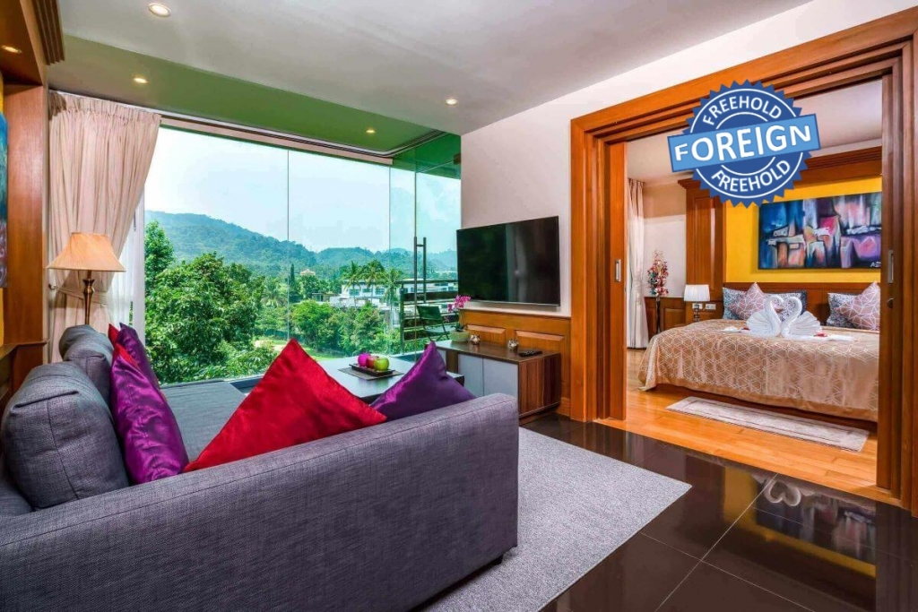 2 Bedroom Foreign Freehold Golf Course View Condo for Sale in Kathu Golf Condo, Phuket