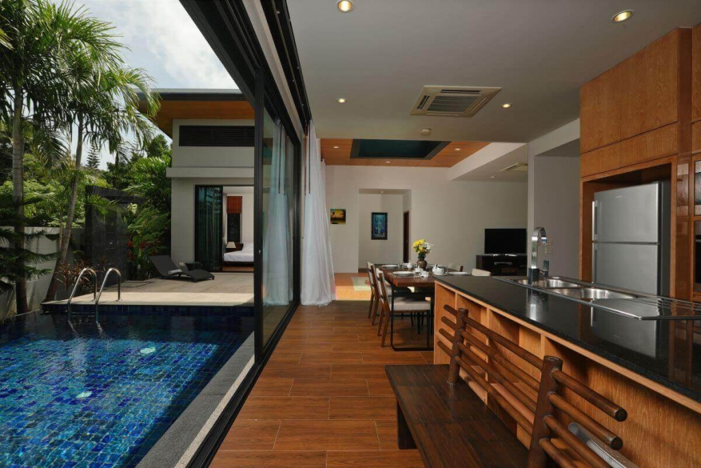 2 Bedroom Zen Pool Villa for Sale at Nai Harn Baan-Bua near Nai Harn Beach, Phuket