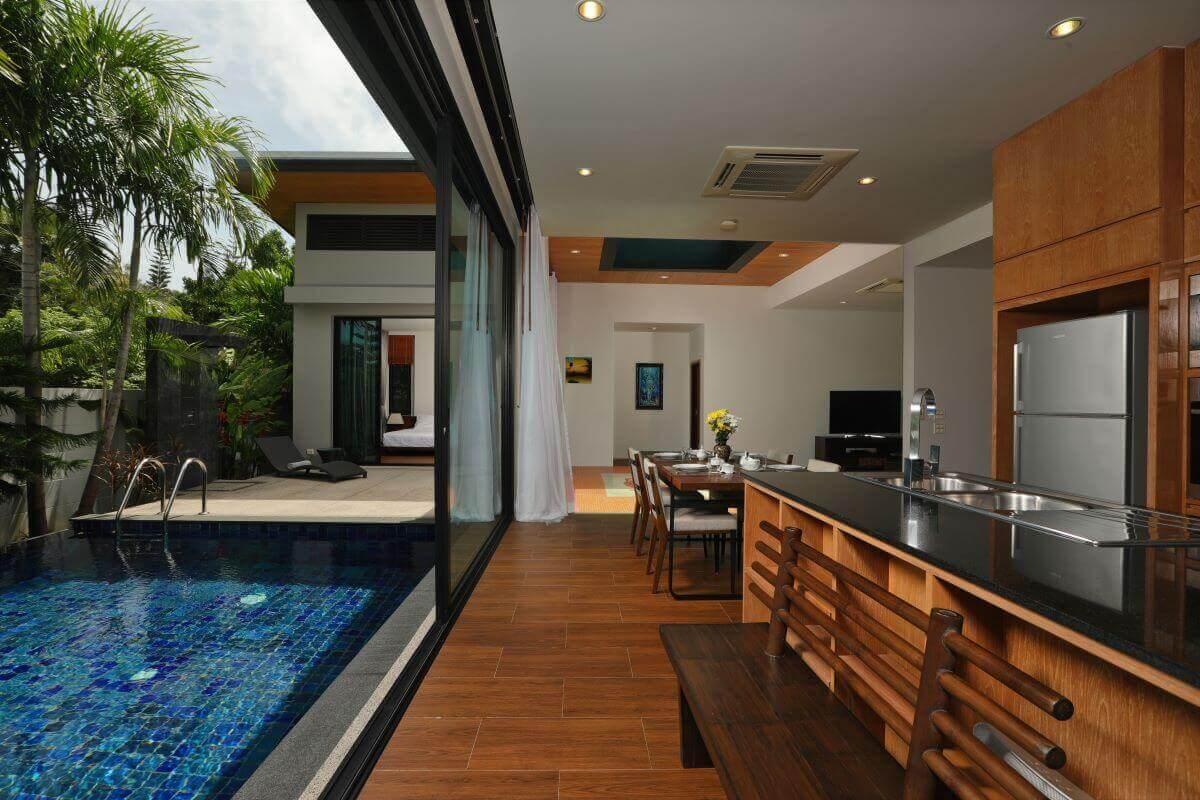 2 Bedroom Zen Pool Villa for Sale at Nai Harn Baan-Bua near Nai Harn Beach, Phuket