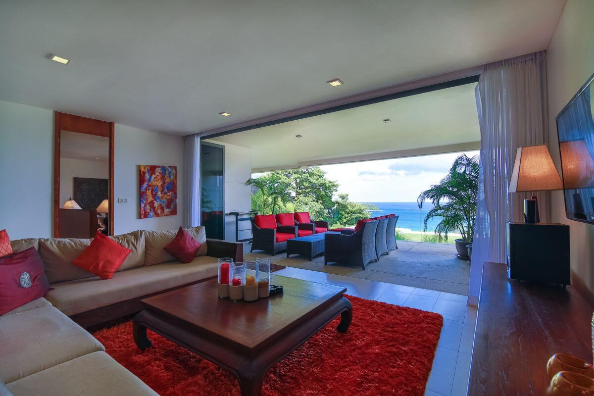 2 Bedroom Sea View Freehold Condo for Sale at The Heights, Kata, Phuket