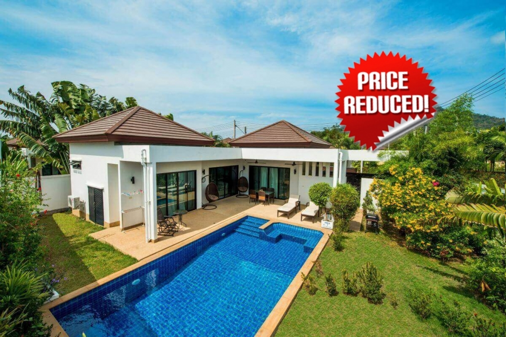 3 Bedroom Freehold Pool Villa for Sale in Rawai Phuket