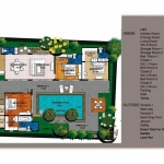 3 Bedroom Rawai Grand Villas Floorplan