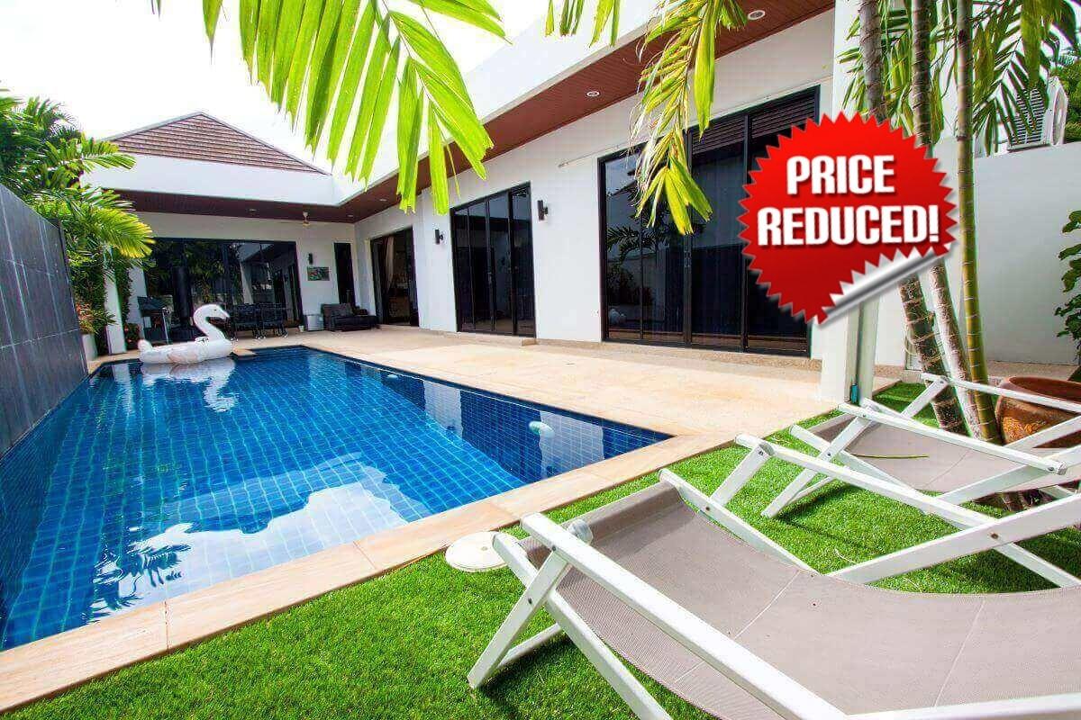 3 Bedroom Villa Lerua by Intira Villas for Sale in Rawai, Phuket