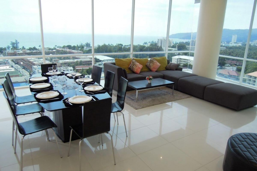 4 Bedroom Foreign Freehold Penthouse Condo with Amazing Sea Views for Sale near Karon Beach, Phuket