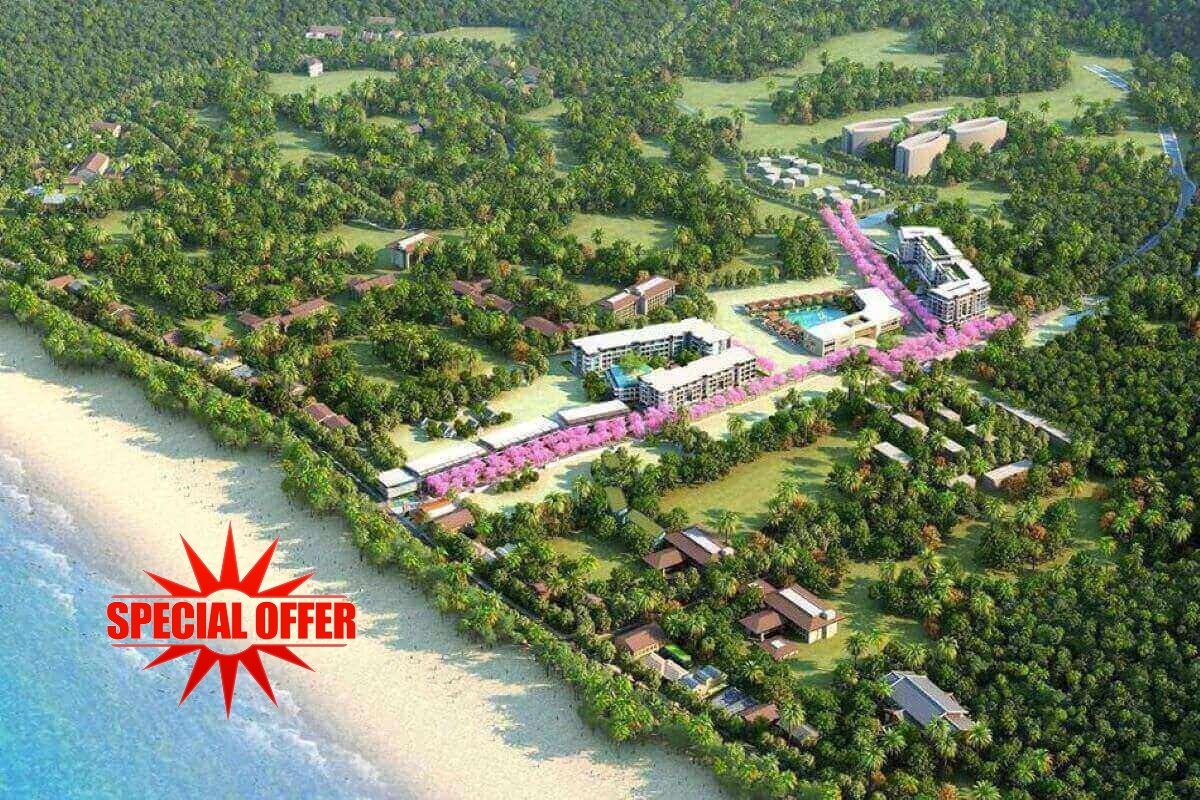 1 Bedroom Beachfront Resort Condo for Sale in Nai Thon, Phuket