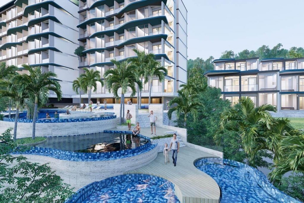 1 Bedroom Condo with Hotel License for Sale near Layan Beach, Phuket