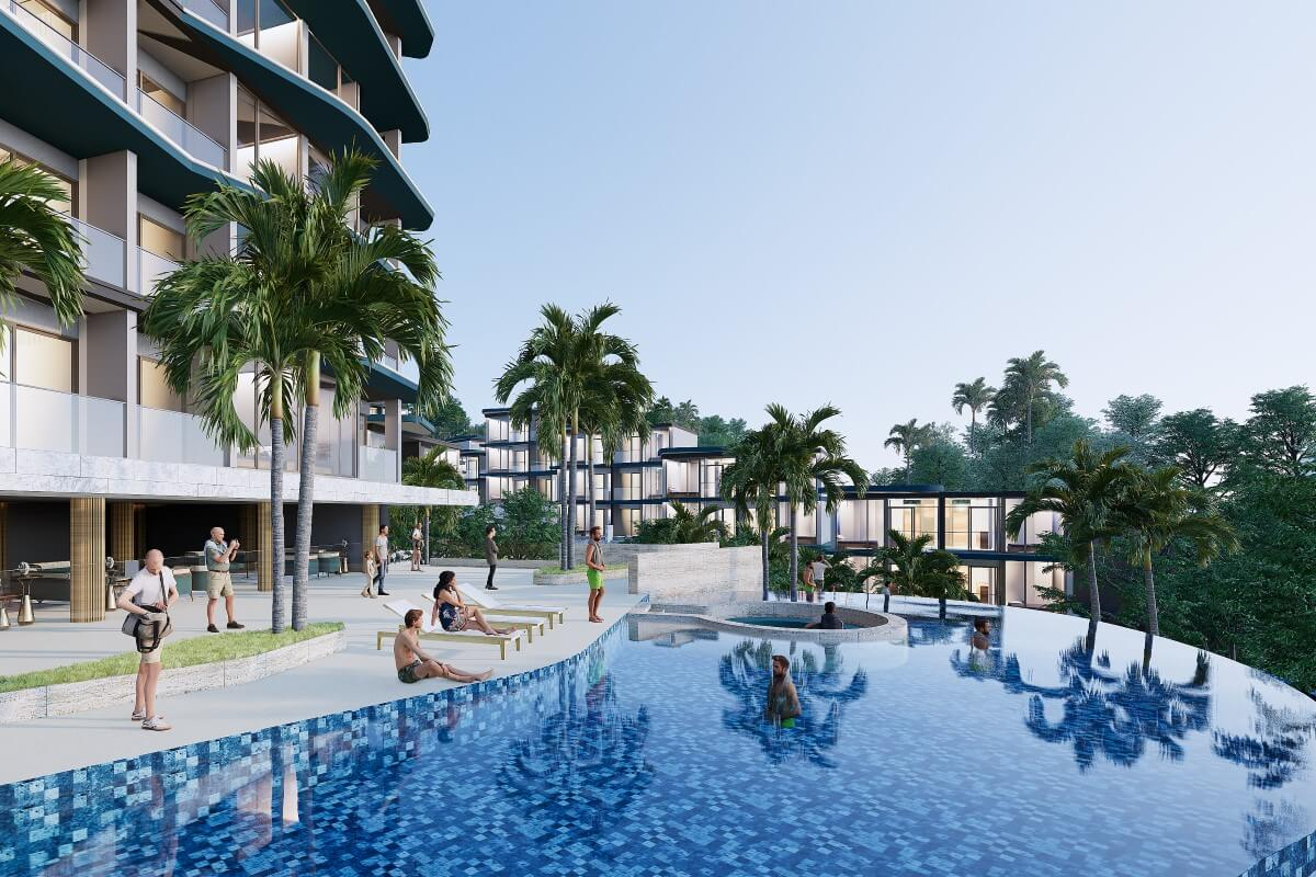 2 Bedroom Condo with Hotel License for Sale near Layan Beach, Phuket