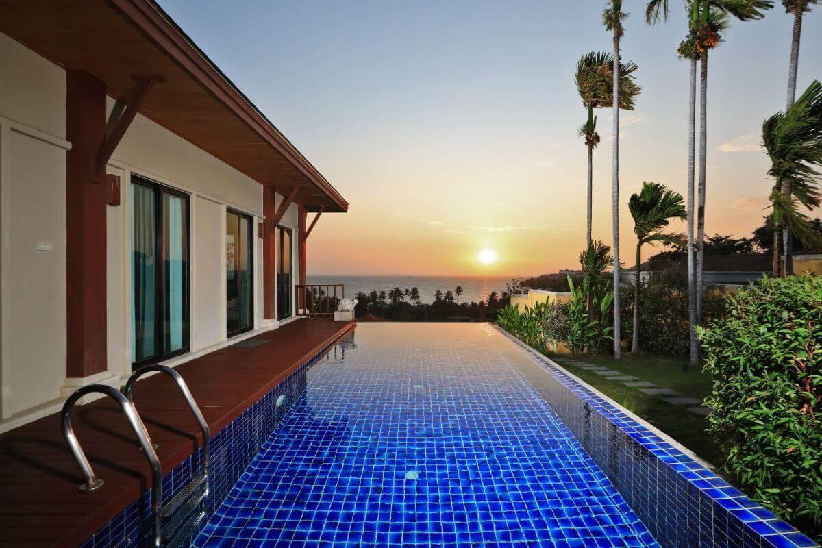 4 Bedroom Sea View Pool Villa for Sale at Two Villas Ao Yon in Panwa, Phuket