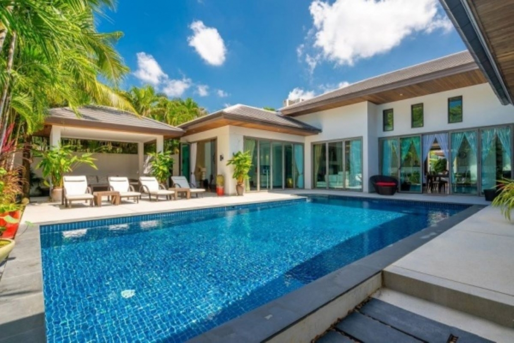 3 Bedroom Pool Villa for Sale at Baan Mandala Villa near Bang Tao Beach, Phuket