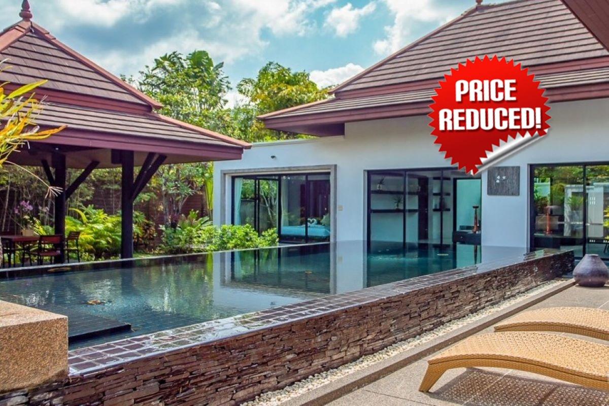 3 Bedroom Pool Villa for Sale at Baan Thai Surin Gardens near Bang Tao Beach, Phuket
