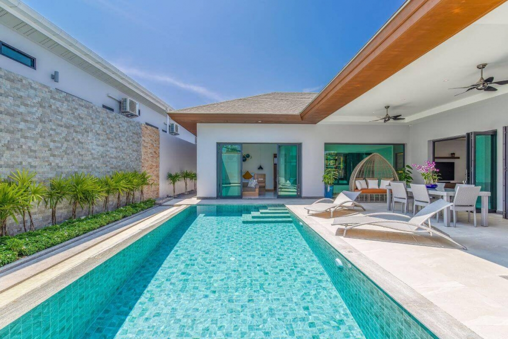 3 Bedroom Boutique Pool Villa for Sale in Cherng Talay, Phuket