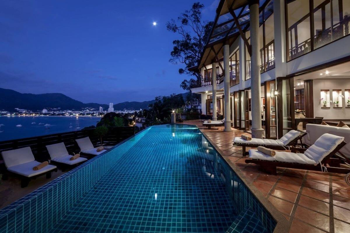 5 Bedroom Pool Villa for Sale with Stunning Views Over Patong Bay, Phuket