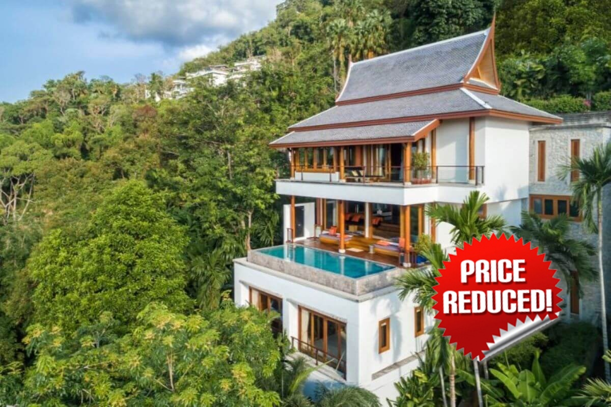 4 Bedroom Sea View Luxury Pool Villa for Sale by Owner at Surin Hill near Surin Beach, Phuket