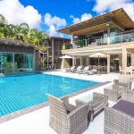5 Bedroom Sea View Luxury Pool Villa for Sale at La Colline in Layan, Phuket