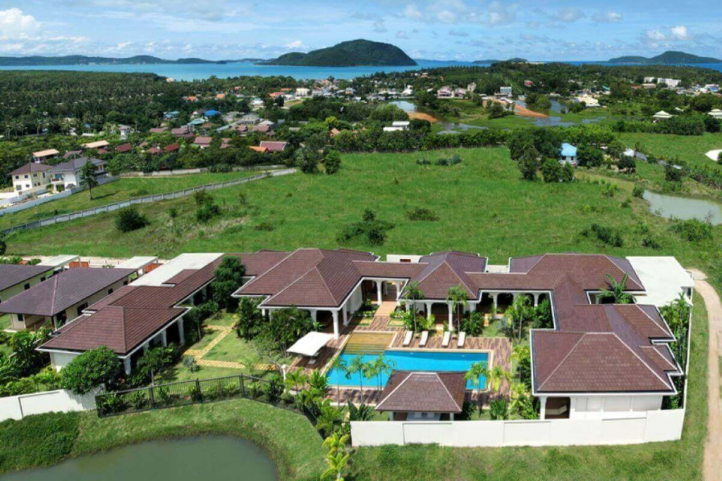 6 Bedroom Pool Villa with Large Plot of 2,260 sqm for Sale near Rawai Beach, Phuket