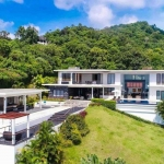 6 Bedroom Sea View Pool Villa on a Large 4,800 sqm Plot for Sale in Rawai, Phuket