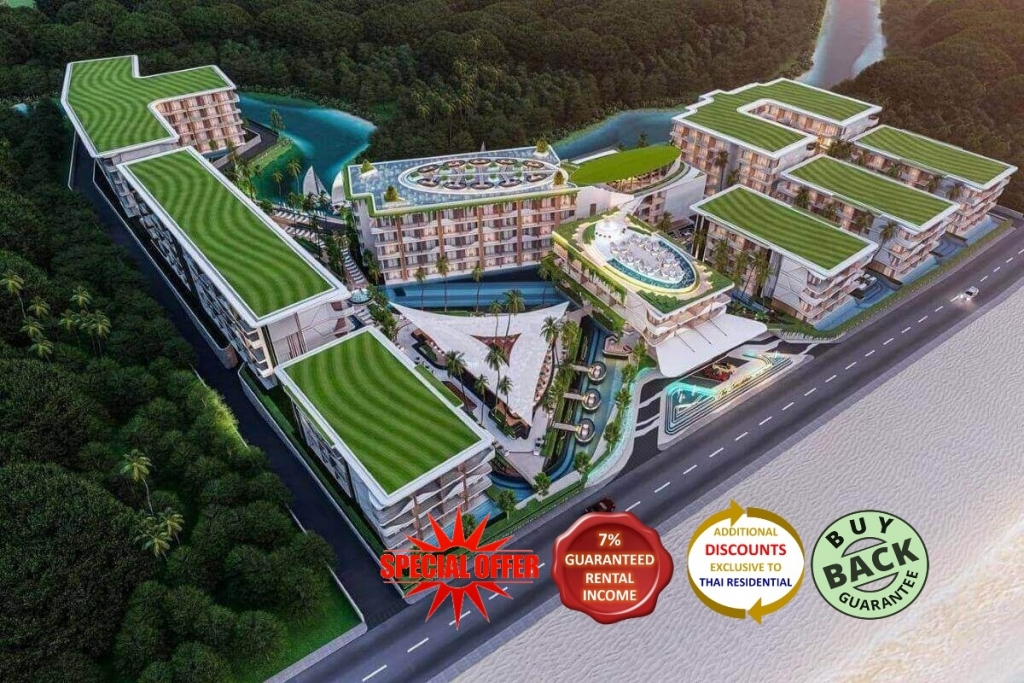 Studio Resort Condo for sale 50 Metres to Bang Tao Beachfront, Phuket