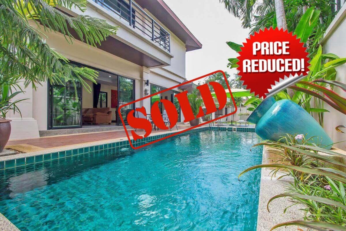 3 Bedroom Fully Furnished Pool Villa for Sale near Rawai Beach Phuket