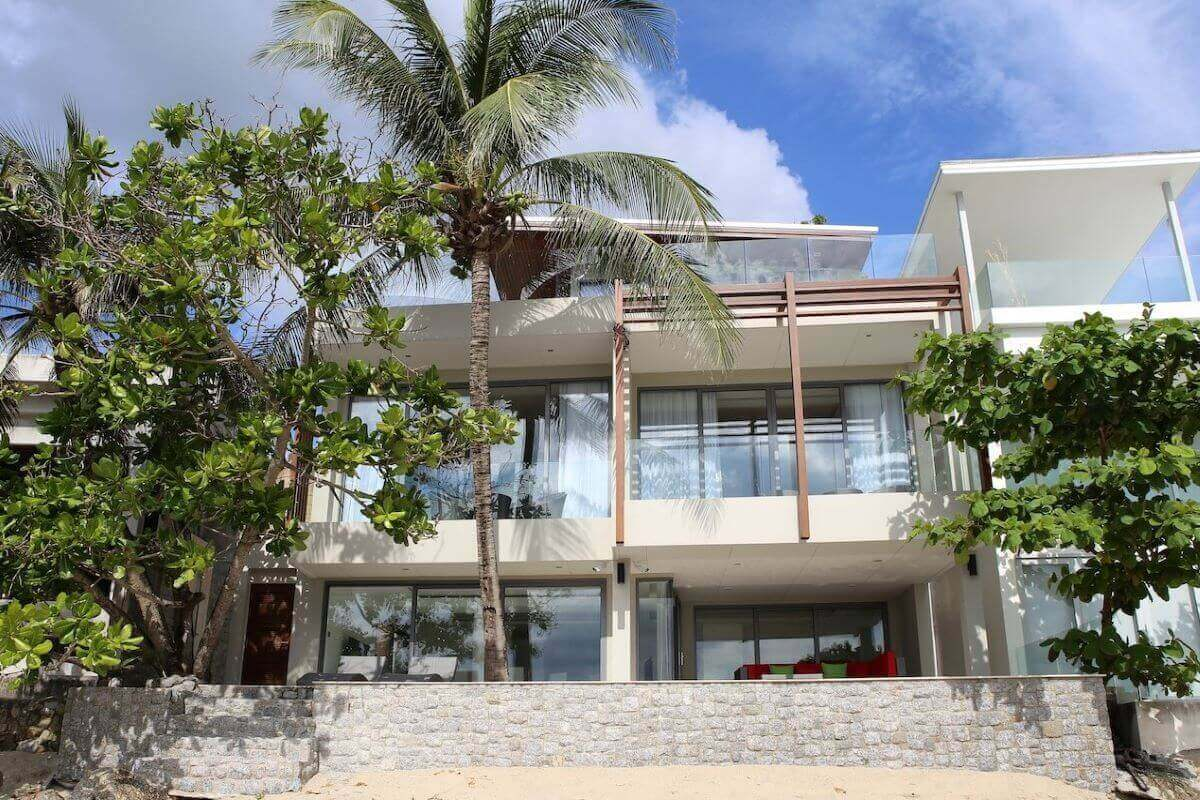 3 Bedroom Absolute Beachfront Pool Villa for Sale in Kalim Beach, Phuket
