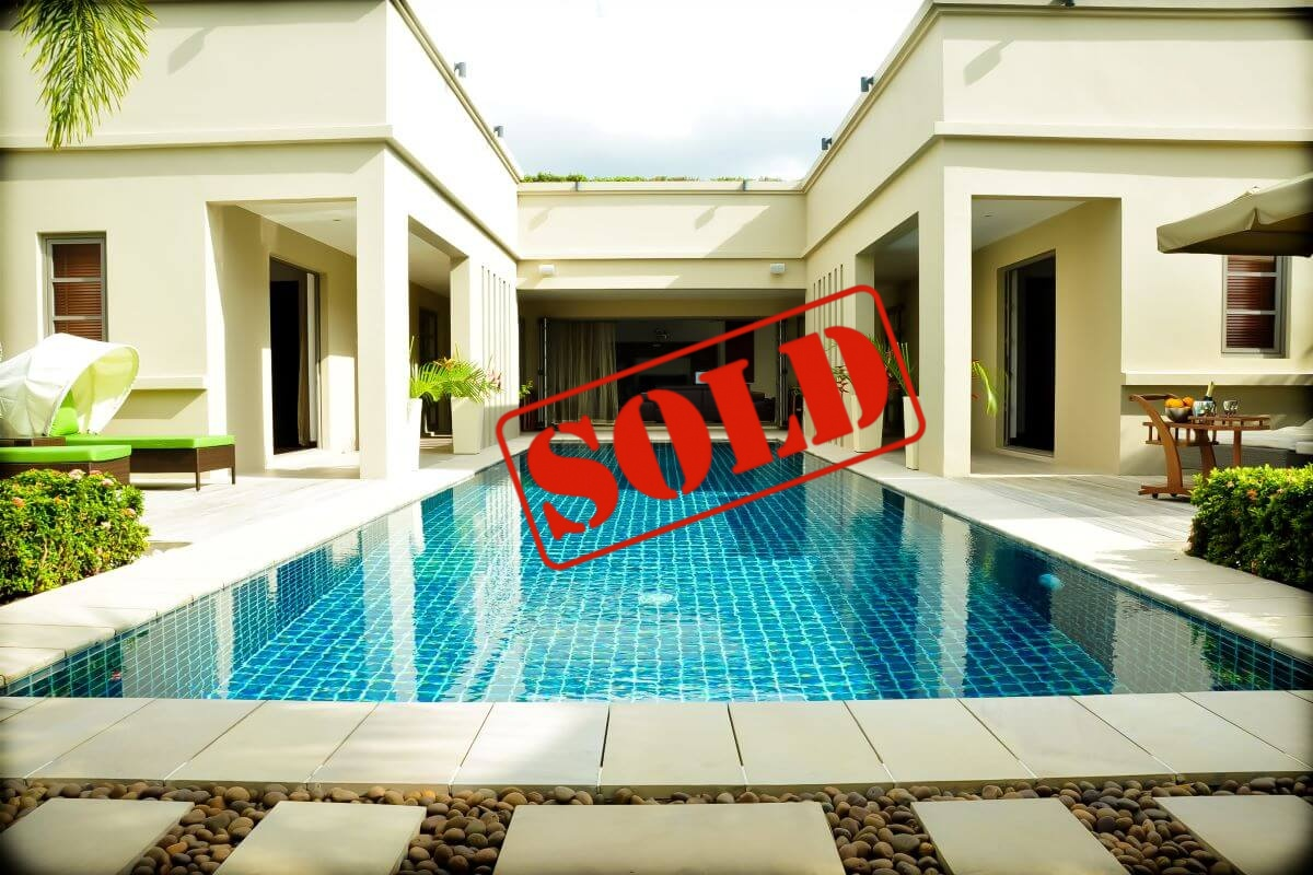 4 Bedroom Pool Villa for Sale by Owner at The Residence near Bang Tao Beach, Phuket