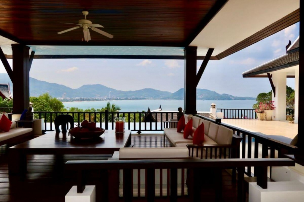 4 Bedroom Sea View Pool Villa for Sale at IndoChine in Kalim near Patong Beach, Phuket