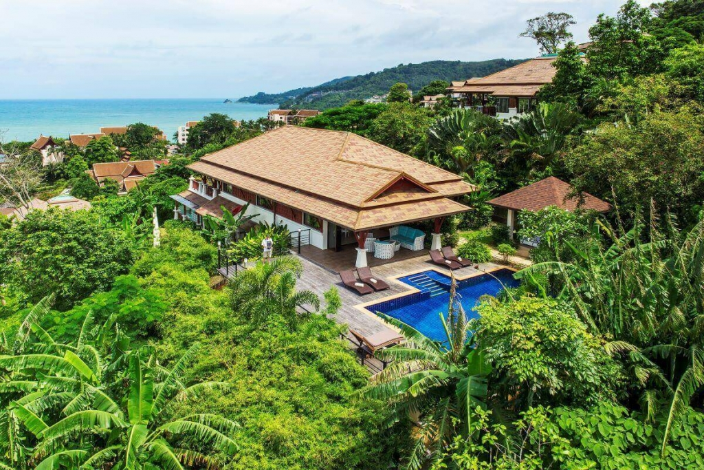 5 Bedroom Pool Villa For Sale with Stunning Panoramic Sea Views over Patong Bay, Phuket