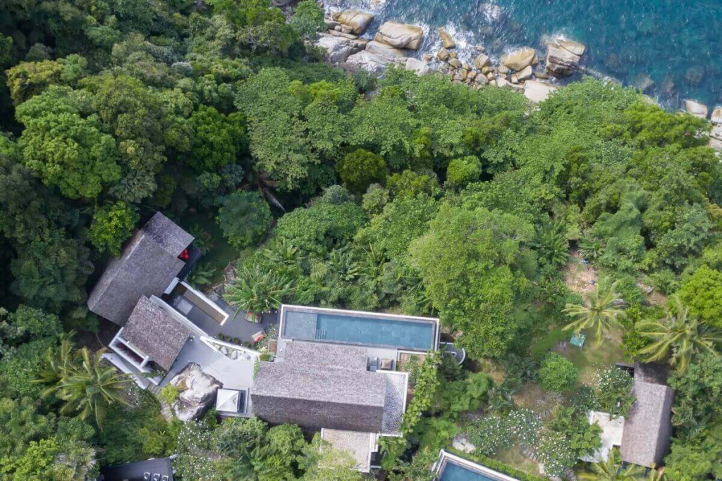 5 Bedroom Luxury Oceanfront Pool Villa for Sale at Cape Amarin, Kamala Headland, Phuket