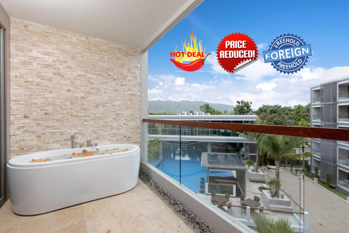 1 Bedroom Foreign Freehold Condo for Sale near Laguna & Bangtao Beach, Phuket