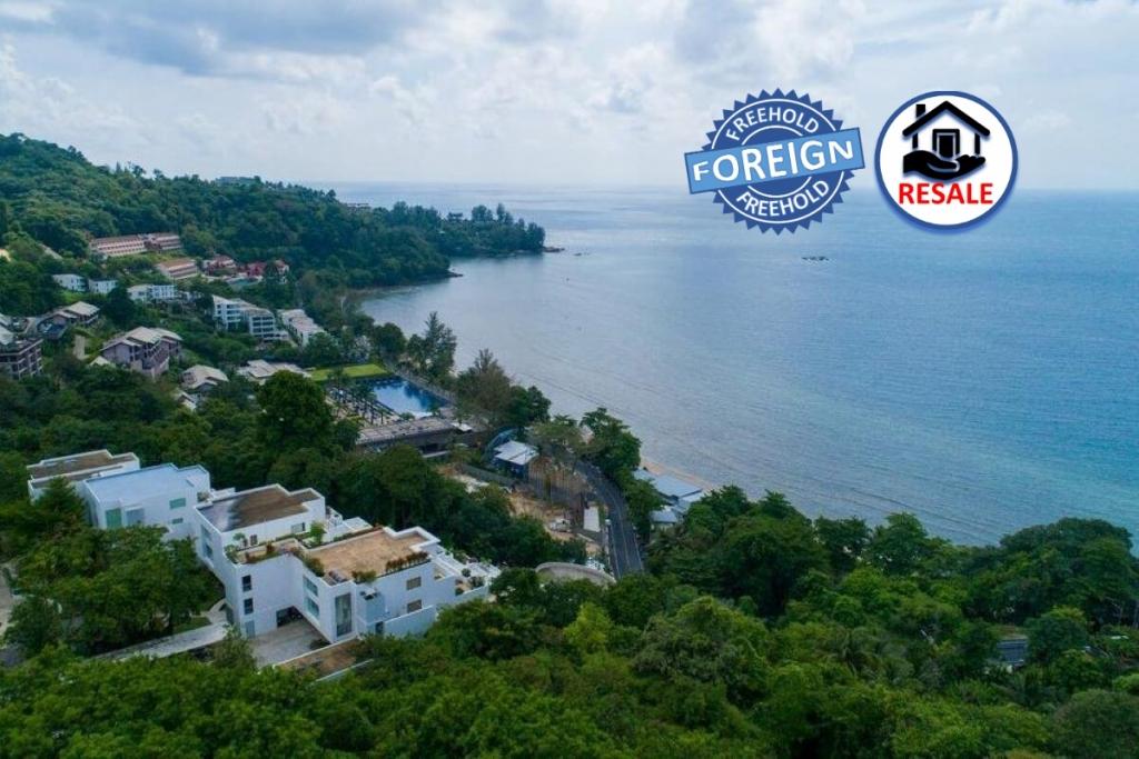 1 Bedroom Foreign Freehold Sea View Condo for Sale at The Plantation near Kamala Beach, Phuket