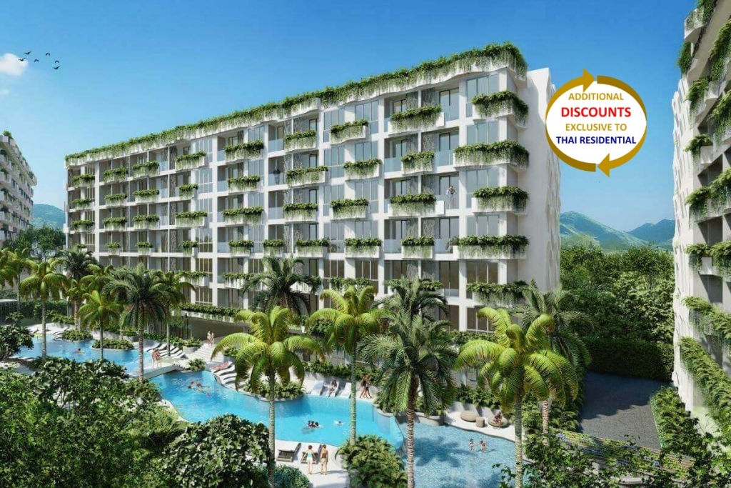 2 Bedroom Resort Condo for Sale near Dream Beach Club & Layan Beach, Phuket