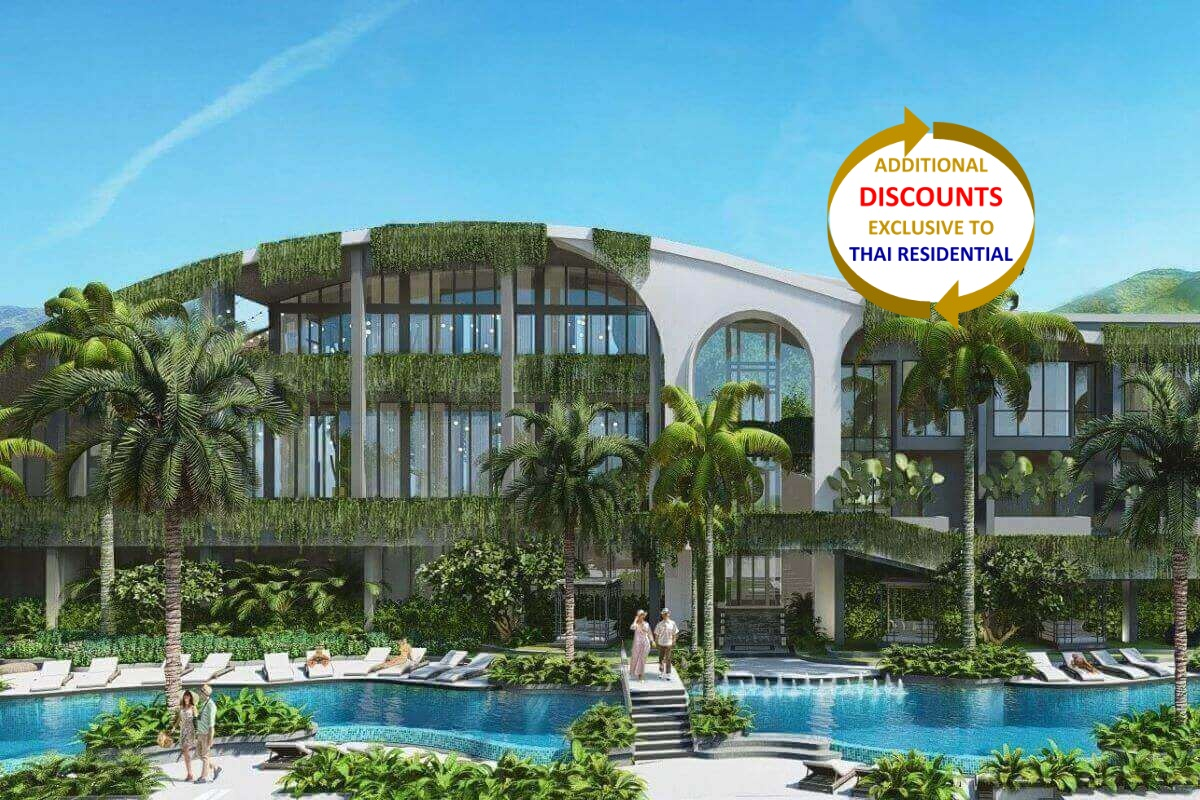 3 Bedroom Resort Condo for Sale near Dream Beach Club & Layan Beach, Phuket
