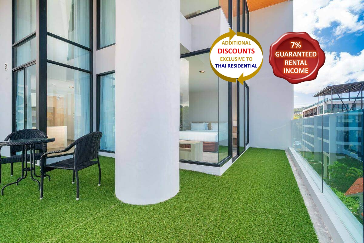 3 Bedroom Duplex Corner Condo for Sale Walking Distance to Kata Beach, Phuket
