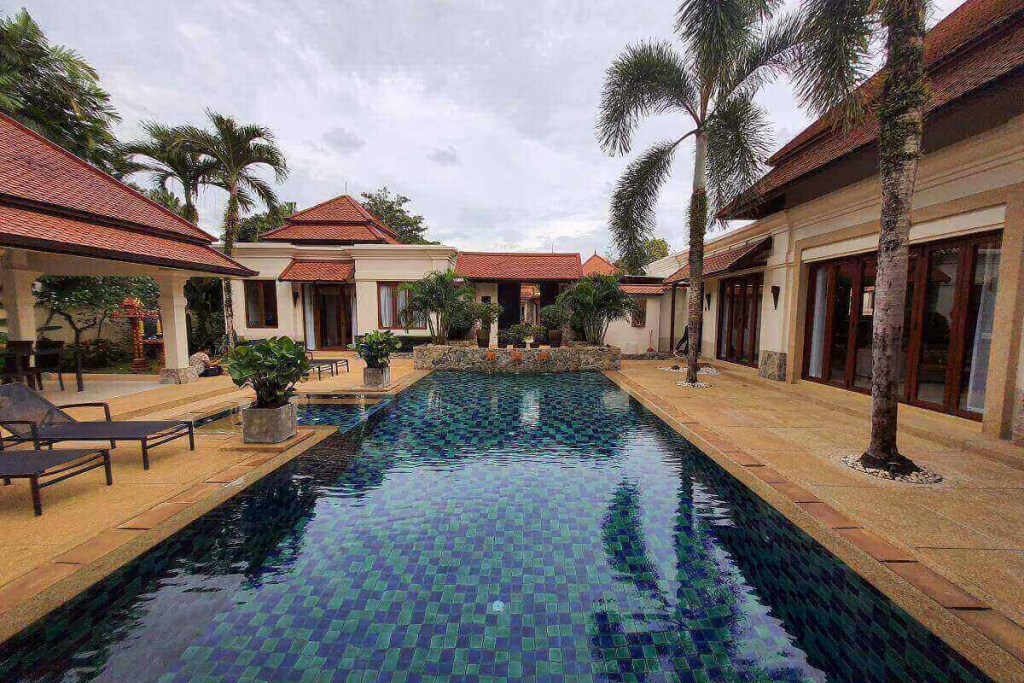 3 Bedroom Newly Renovated Pool Villa for Sale at Sai Taan near Bang Tao Beach, Phuket