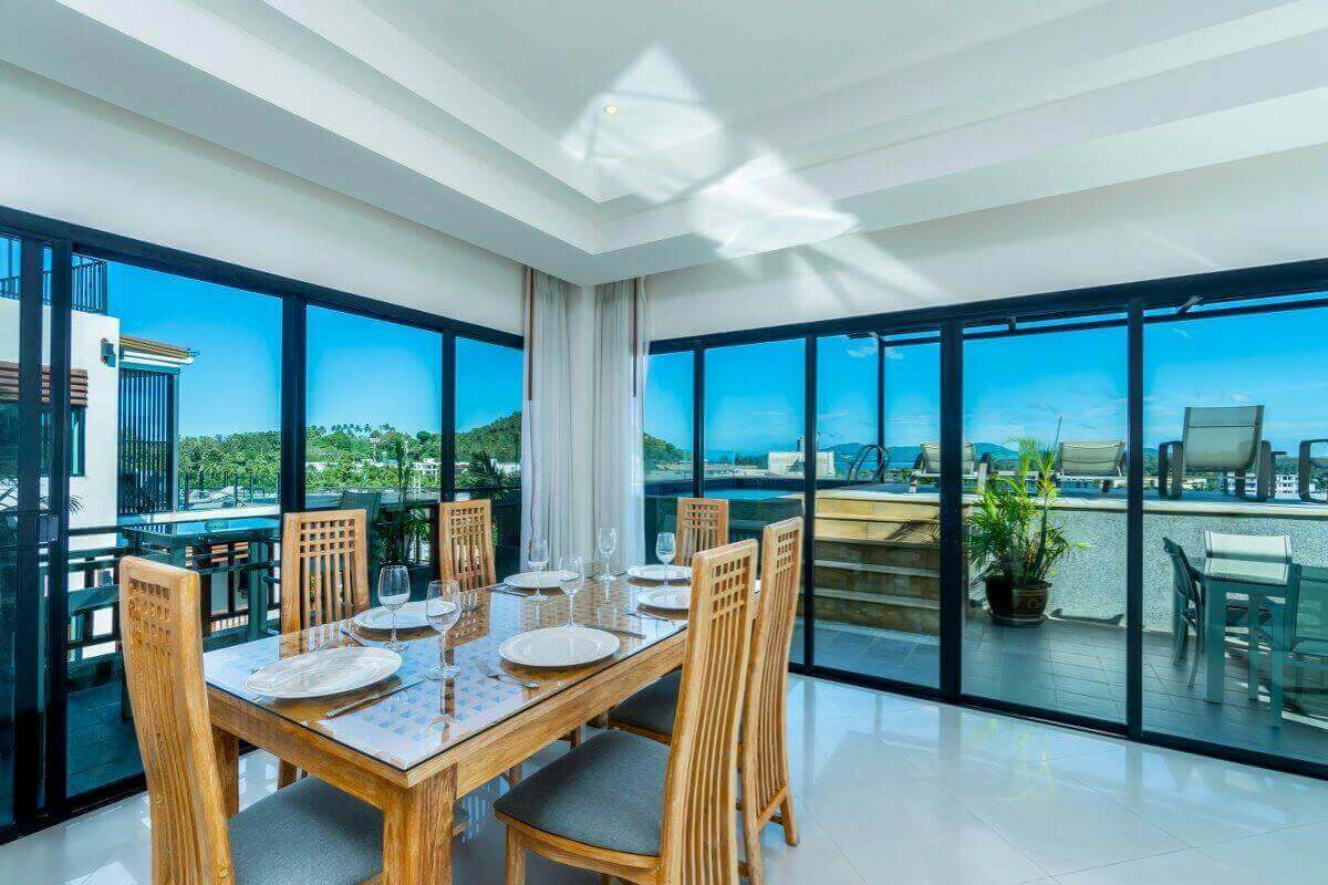 3 Bedroom Foreign Freehold Sea View Penthouse Condo for ...