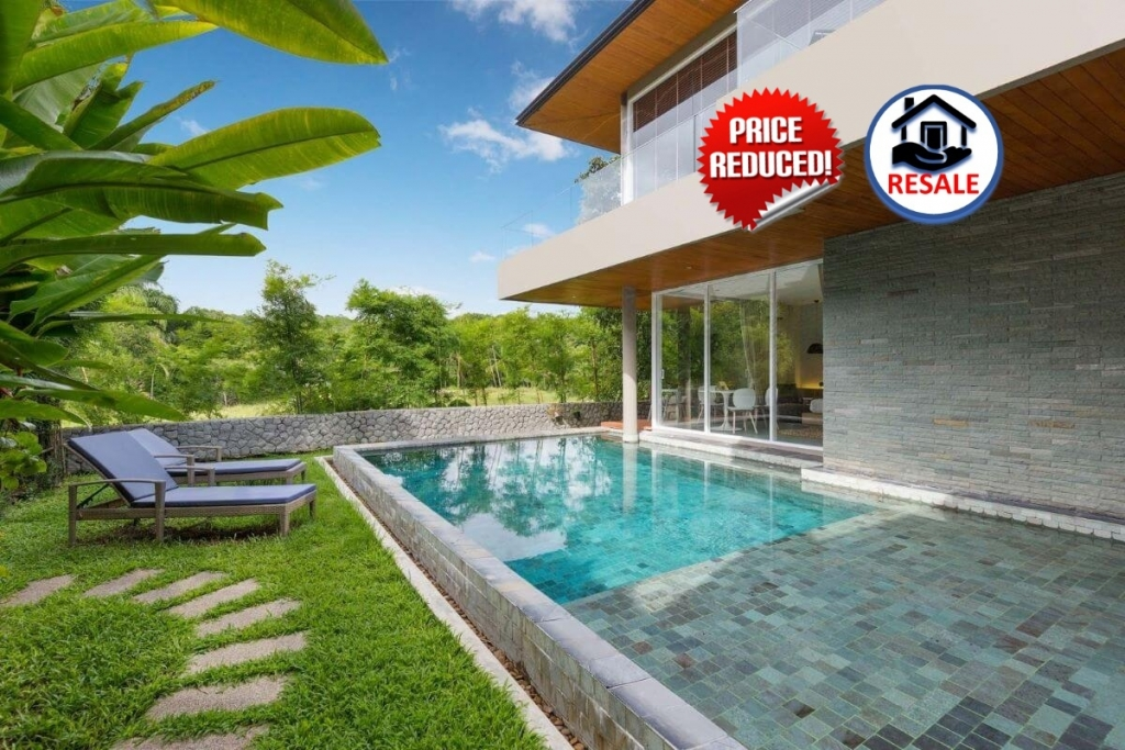 4 Bedroom Freehold Pool Villa for Sale at Villa Sunpao Resort and Spa near Layan Beach, Phuket