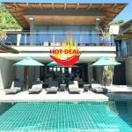 5 Bedroom Super Deal Sea View Pool Villa for Sale at La Colline in Layan, Phuket