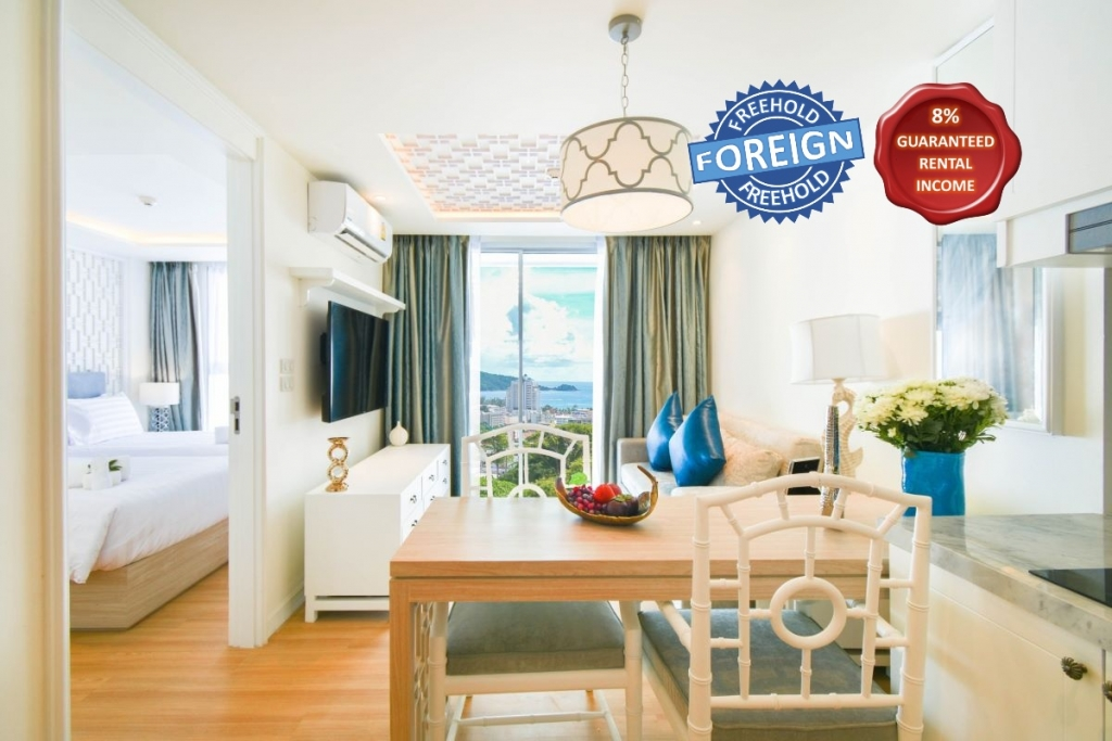 1 Bedroom Sea View Foreign Freehold Condo for Sale near Patong Beach, Phuket