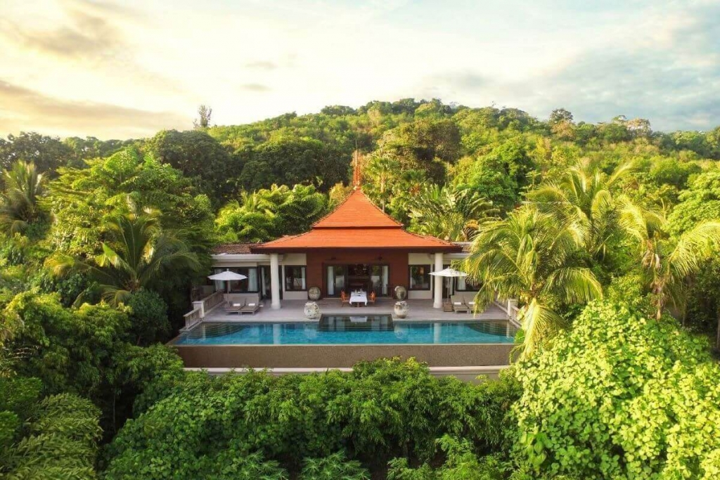 2 Bedroom Sea View Pool Villa for Sale with Private Beach Access at Trisara in Cherng Talay, Phuket