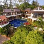 4 Bedroom Oceanfront Luxury Pool Villa for Sale at Baan Kata Villa near Kata Beach Phuket